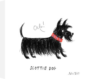 Scottie Dog by Alice Tait