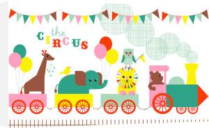 Circus Train by Marie Perkins