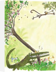 Roald Dahl - The Enormous Crocodile 1 by Quentin Blake