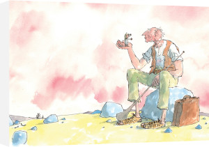 Roald Dahl - The BFG and Sophie 2 by Quentin Blake