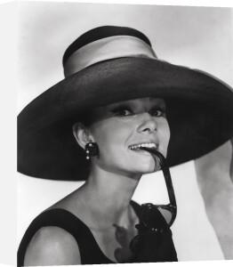 Audrey Hepburn, 1961 by Bud Fraker
