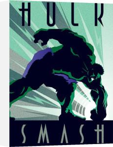 Marvel Deco - Hulk by Marvel Comics