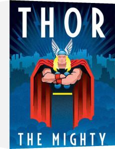 Marvel Deco - Thor by Marvel Comics