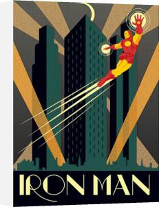 Marvel Deco - Iron Man by Marvel Comics