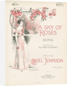 A Sky of Roses by Anonymous