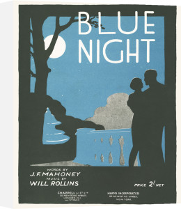 Blue Night by Anonymous
