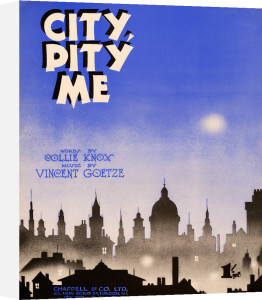 City, Pity Me by Anonymous