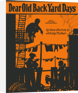 Dear Old Back Yard Days by Anonymous