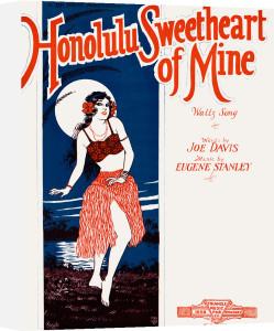 Honolulu Sweetheart of Mine by Anonymous
