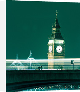 Big Ben Night by Keri Bevan