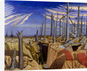 Oppy Wood, 1917 - Evening by John Nash