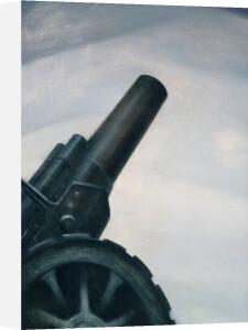 A Howitzer Gun in Elevation by Christopher Richard Wynne Nevinson