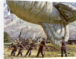 A Balloon Site, Coventry by Dame Laura Knight