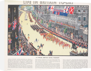 Life in Britain Today - Royal Pageant by Grace Lydia Golden