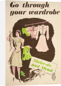Go Through Your Wardrobe - Make-Do and Mend by Donia Nachshen