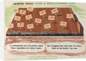 Winter Meals from a Well-planned Plot by Frederic Henri Kay Henrion