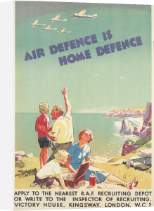 Air Defence is Home Defence by Anonymous