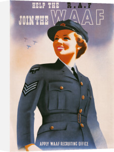 Help the RAF - Join the WAAF by Abram Games