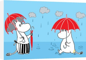 Moomins in the Rain by Tove Jansson