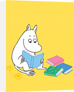 Moomin Reading by Tove Jansson