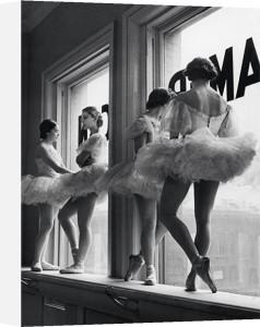 Ballerinas in Windows by Alfred Eisenstaedt
