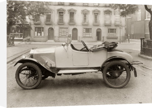 Eric Campbell car 1921 by Anonymous