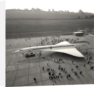 Concorde roll out 5 by Anonymous