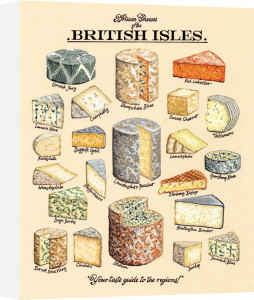 Artisan Cheeses by Kelly Hall