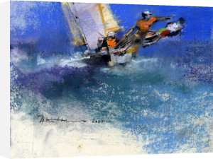 Early Yacht 1 by John Harris