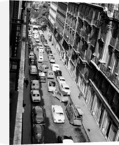 Street Jam, Paris 1963 by Alan Scales