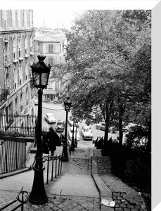 Montmartre Steps, 1963 by Alan Scales