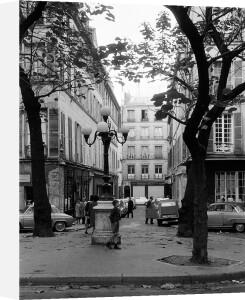 Autumn - Place du Fursternberg, Paris 1963 by Alan Scales