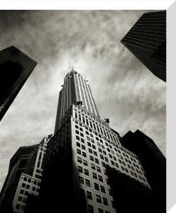 Chrysler Building I by Carl Lyttle