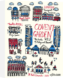 Covent Garden by Julia Gash