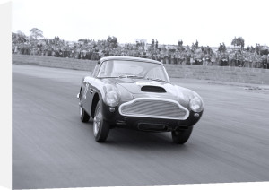 Aston Martin DB6 powerdrift, Silverstone by Anonymous