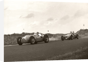 Low angle racing, Zandvoort by Anonymous
