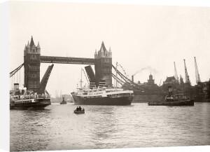 Tower Bridge raised by Anonymous