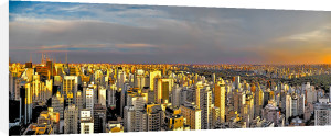 Sao Paolo Sunset by Henry Reichhold