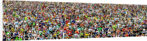 London Marathon by Henry Reichhold