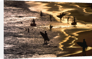Surfers at Sunset by LOOK