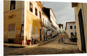 Young girl in Sao Luis by Andia