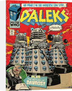 Doctor Who - The Daleks Comic by Anonymous