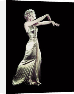 Marilyn Monroe - Gold Dress by Time Life