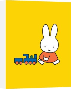 Miffy and Toy Train by Dick Bruna