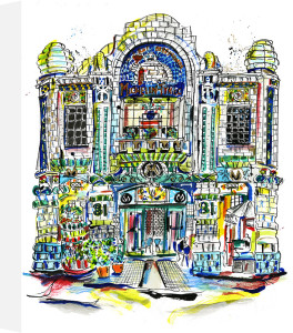 Bibendum (exterior) by Anna-Louise Felstead