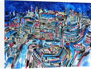 Trafalgar Square by Anna-Louise Felstead