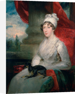 An Unfinished Portrait of Mrs Soane, Painted from a Pencil Sketch by J. Flaxman, RA and a Miniature by John Jackson