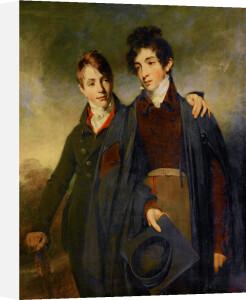 John Soane Junior and George Soane by William Owen