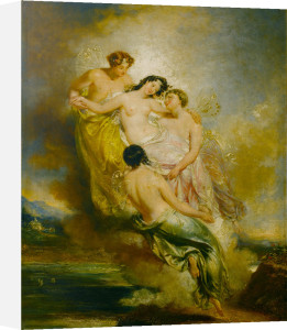 Psyche Conveyed by Zephyrs to the Valley of Pleasure by John Wood