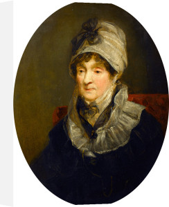 Portrait of a Lady (Mrs Parry, the Mother of Sir W. E. Parry, RN) by John Jackson